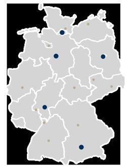 Standorte EHV